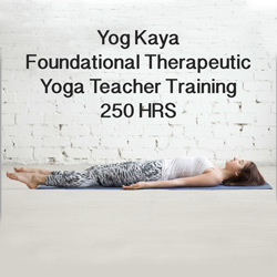 250H Foundational Therapeutic Yoga Teacher Training @ Light Centre Monument | England | United Kingdom