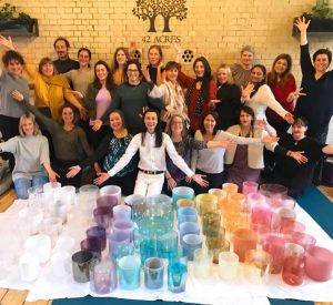 Alchemy Crystal Bowls level 1 training with Yantara Jiro @ Light Centre Moorgate | England | United Kingdom