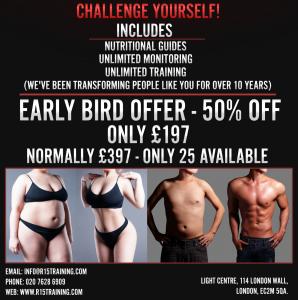 2 Week R15 Challenge @ R15 Training - Light Centre Moorgate | England | United Kingdom
