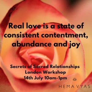 Sacred Relationships Workshop @ Light Centre Belgravia | England | United Kingdom