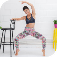 ONLINE - Cardio Barre for Weight Loss with Chardet Durbin @ Light Centre ONLINE via Zoom