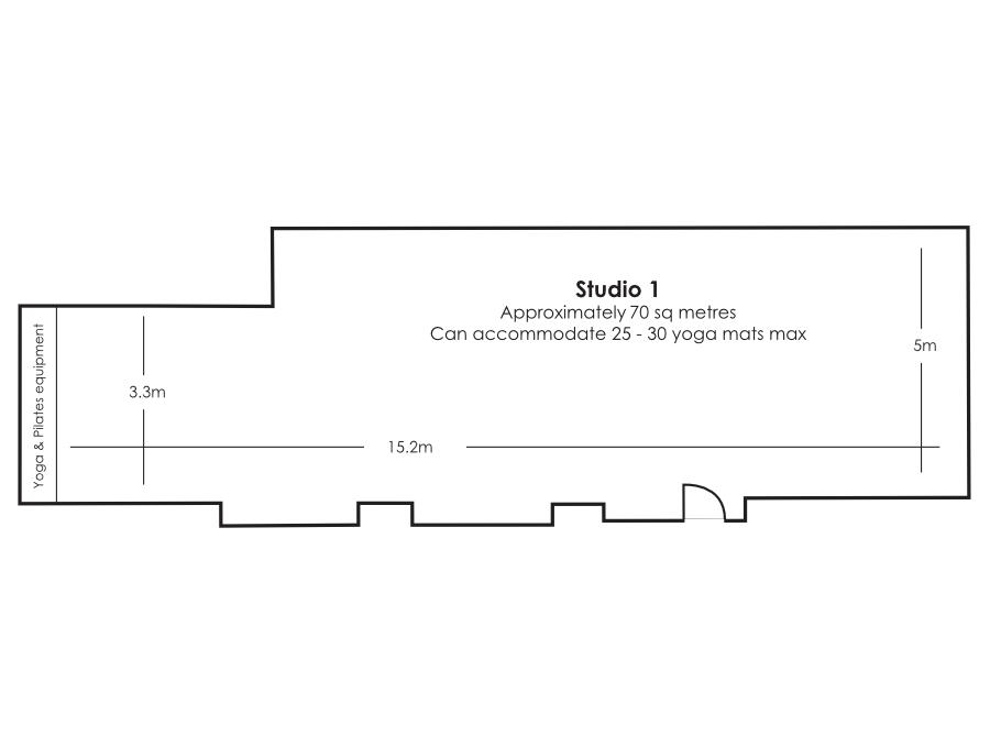 Belgravia Studio 1 floor plan
